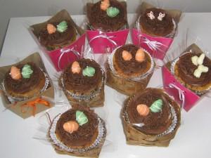 Cupcakes de Páscoa I