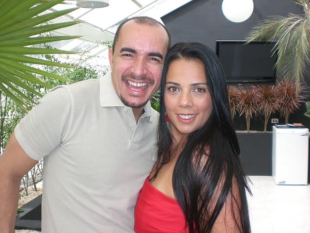 Paulo Persil e Amanda Acioli