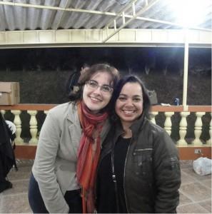 A Debora do @cozinhapequena e eu
