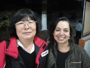 """Marisa Ono """"a mãe do alho negro"""" e eu"""