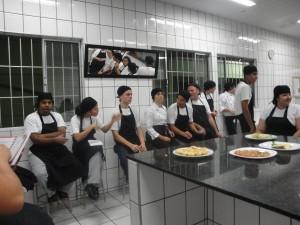 Turma de Técnico em Cozinha