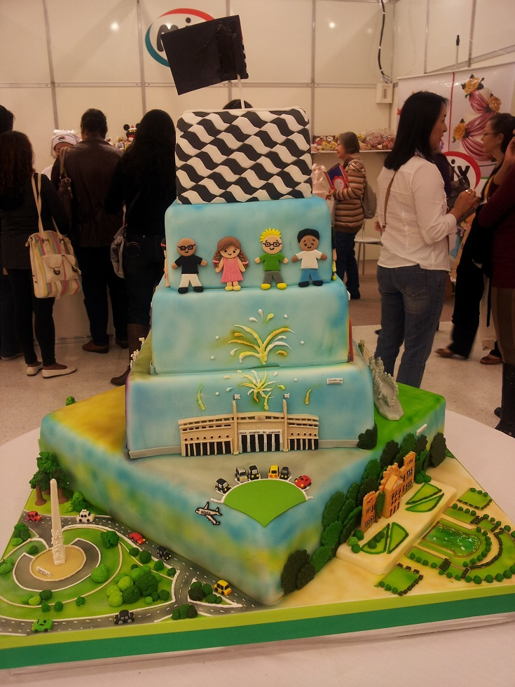 Cake Decorating Expo : Cake Design Expo   Bolos decorados Deliciando