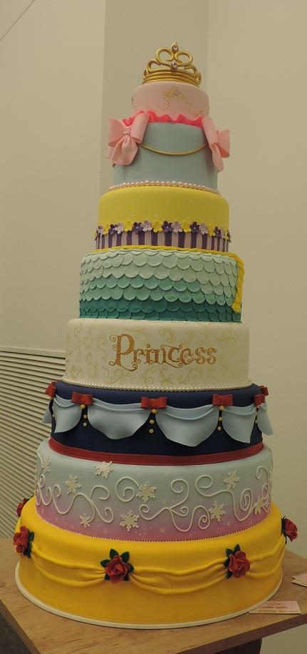 bolo das princesas