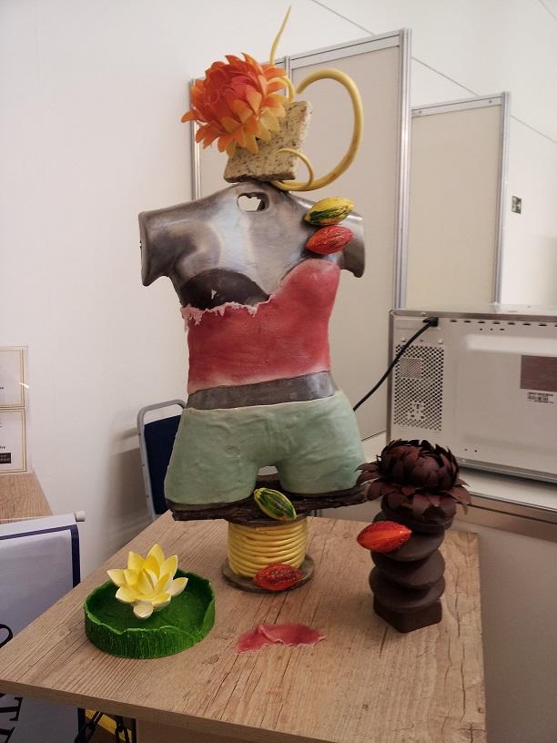 escultura de chocolate3