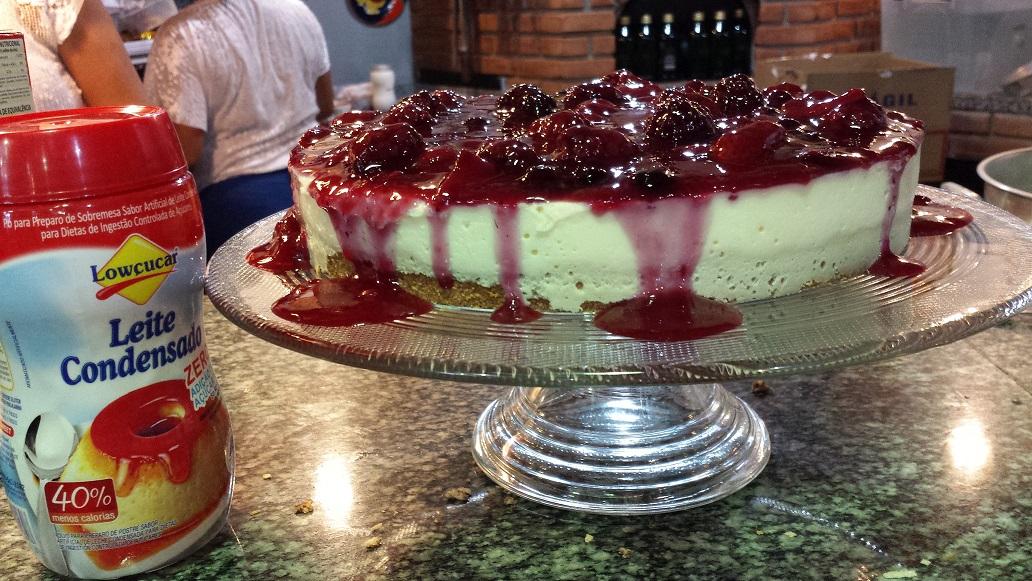 cheesecake lowçucar